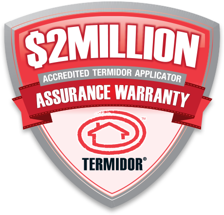 Termidor Warranty Badge $2 mil